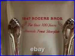 1847 ROGERS BROS. SILVERWARE REMEMBRANCE SILVERWARE (76 pc)