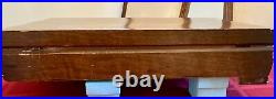 1847 Roger Bros 64 Piece FIRST LOVE Silverware Silver Plate Set in Wood Case
