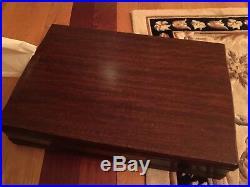 1847 Rogers Bros 52 Piece Daffodil Pattern Silverware Silverplate Flatware & Box