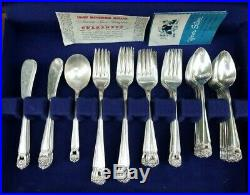 1847 Rogers Bros. 85 Piece Set Eternally Yours International Silver