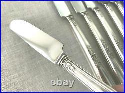 1847 Rogers Bros Ambassador Silverplate Silverware Flatware 73 Piece Set VGC