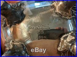 1847 Rogers Bros DAFFODIL Intern Silver 9901 9903 9904 3pc silver plate tea set