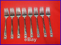 1847 Rogers Bros Eternally Yours Silverplate Flatware Set 52 Pieces