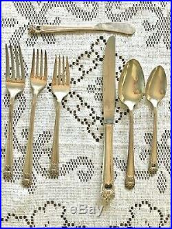 1847 Rogers Bros. Eternally Yours Silverware Setting for 8 82 Piece Set