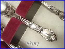 1847 Rogers Bros Heritage Silver Plate Flatware 53pcs svc for 8 withBox