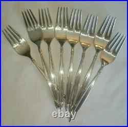 1847 Rogers Bros IS Flatware GARLAND 48pc Service for 8 withServing Pieces c. 1965