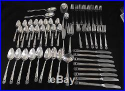 1847 Rogers Bros. IS USA Silverplate Flatware Eternally Yours 53pc. Set