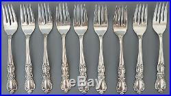 1847 Rogers Bros I. S. Heritage Sliver Plate Flatware Service For 8 40 pc Set