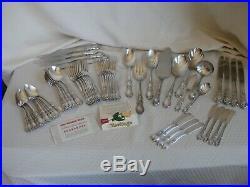 1847 Rogers Bros International Silver Heritage Flatware Set 65 Pieces Excellent
