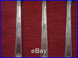 1847 Rogers Bros Silver-plate Flatware First Love Pattern 68 Pc Set Silverware