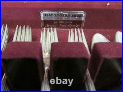 1847 Rogers Bros Silverware Flatware Eternally Yours Set For 8