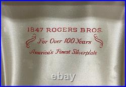 1847 Rogers Bros Silverware Flatware Set Eternity Yours Pattern/ Storage Box