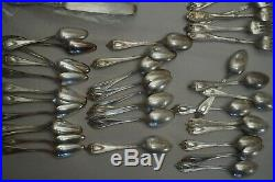 1847 Rogers Bros XS Triple 60 Piece silverware Old Colony Serving Fork/Spoon