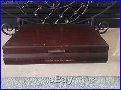 1847 Rogers Silverplate Flatware Set Eternally Yours Pat 1941 Serve 8, 52pcs