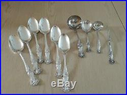 1847 Rogers VINTAGE 1904 Grapes XS Triple SilverPlate Flatware Set for 12 = 94pc