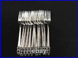 1847 rogers bros silverware King Frederik, service for 12 and serving pieces