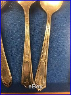 1847 rogers bros silverware eternally yours service for 8, 70pc + 7 additional