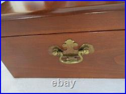 1881 Rogers Silverplated 74 Pc Flatware In Wood Box Proposal 1954 Pattern