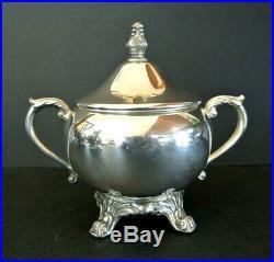 1883 FB Rogers Silverplate Ornate 4 pc. Coffee & Tea Service Set