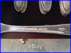 1928 Rogers Onieda Silverplate Set Pat Ramona/Lake/Brentwood 141 pcs/serves 16