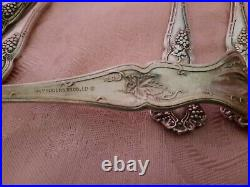 22 piece Rogers Bros 1847 Vintage Grape Pattern Silverware sold as a lot