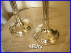 27 PR OF SIVERPLATED ART NOUVEAU CANDELABRAS 4 ARMS 5 LIGHTS Wm A. ROGERS