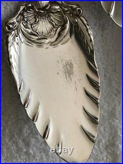 291 Pc Hanover Poppy Rogers Silverplate Flatware Set- 1904 Near Mint! Wow