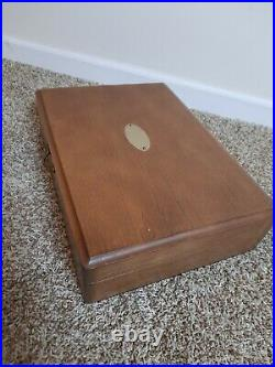 38 Pc Rogers Bros 1847 KING FREDERIK IS Silverplate 1969 flatware