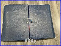 42 pc Original Roger & Bro. Silverplate I. S. Flatware Set in Leather Case