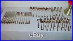 50 Piece SET Vintage WM Rogers AA Silverware Set JUBILEE