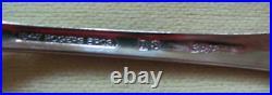 55 piece 8 settings Daffodil silver plate flatware 1847 Rogers Bros retro box