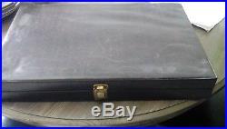 63 Pieces Wm. Rogers Flatware Silverware with case