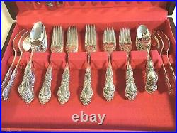 66 pcs 1953 Heritage Rogers Brothers IS Flatware service for 12 with serving Pcs