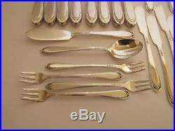 70 pc 1847 Rogers Bros Int. Silver Plate Silverplate Flatware Set Silverware