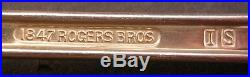 88pc International 1847 Rogers Bros Remembrance Silverplate Silver Plate Set