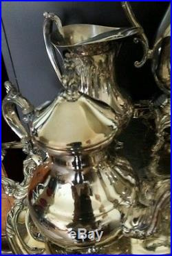 8 piece Silver Plated Tea/Coffee Serving Set