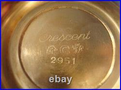 9 Pc Tea Coffee Service Fiesta Oneida Crescent 2950 B. Rogers Silver Co. Academy