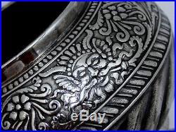 ASSYRIAN HEAD 1847 ROGERS VICTORIAN AESTHETIC c. 1886 SUGAR BWL CREAMER SPOONER