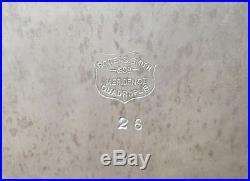 ASSYRIAN HEAD Humidor 1886 Rogers & Smith Silverplate Seldom Seen