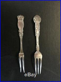 Antique Pickle Castor Rogers Smith & Co. New Haven Pat. No 47 Silver Fork
