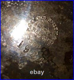 Antique detailed ornate rare Rogers smith co 1924 silver tea pot WOW