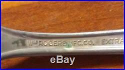 Beautiful 52 wm rogers mfg co extra plate original rogers1933 fidelis silverware