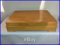 ENCHANTMENT LONDONTOWN 1952 CASED SET 12 x 5 pc PLACES 60 PCS BY 1881 ROGERS