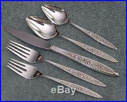 ESPERANTO Vintage 1847 Rogers Flatware / Silverware Set 52 pieces NICE
