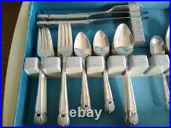 Eternally Yours 1941 By 1847 Rogers Bros Silverplate Flatware Service For 8-52pc