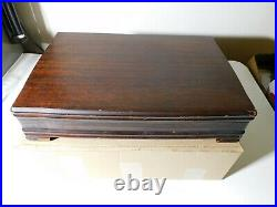 Excellent Daffodil 1847 Rogers Bros With Original Case And Paperwork As Listed