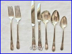 Exquisite Adoration, Silverplate, Enormous set, 1847 Rogers Bros (International)