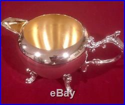FB Rogers Silver Co 5 Piece Tea Set EXCELLENT CONDITION