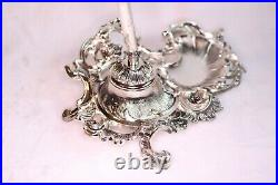 F. B. Rogers Silver Co. Antique 1883-19 Inkwell Stand With Pen Holder, Never Used