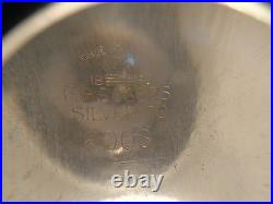 F. B. Rogers Silver Co. Crown 5 Pc. Set Vtg. Cofee/Tea set (#0297)